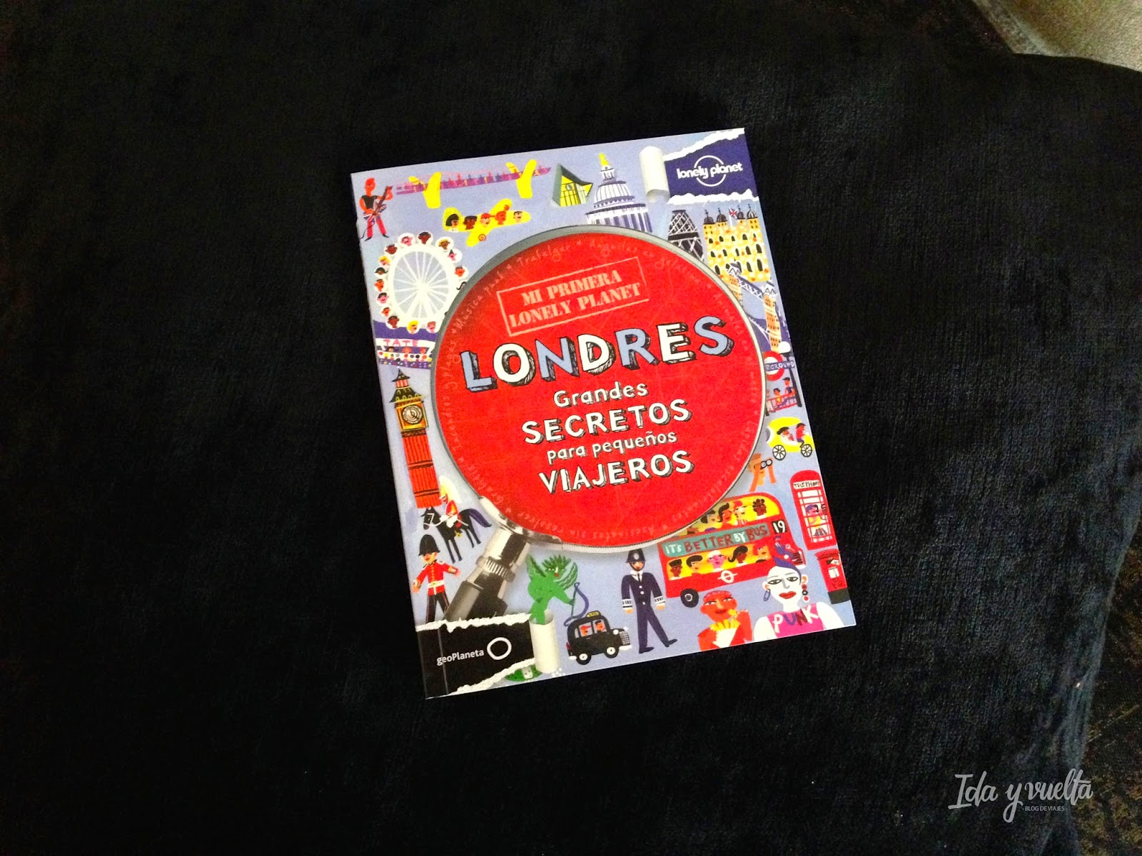 Mi primera Lonely Planet de Londres