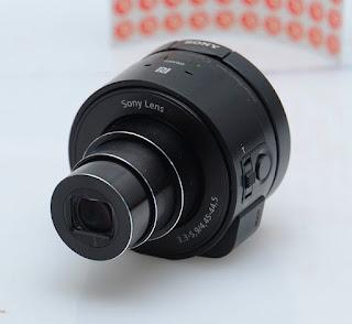 Merubah HP bisa menjadi Kamera DSLR  dengan sony smart lens
