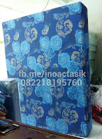 Kasur inoac motif bunga biru 3 inoactasik