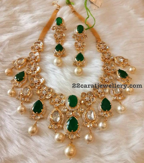 Polki Necklace by Mor Jewels