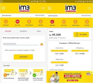 cara cek nomor indosat menggunakan aplikasi myIM3