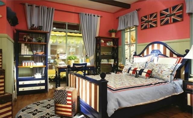Dormitorios con estilo americano for Decoracion estilo americano