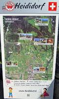 Plano de Maienfeld - Heididorf - Suiza