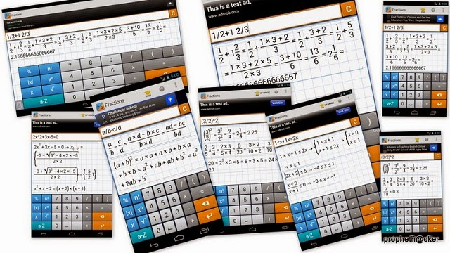 Solve any Math Problems in step by step solution with Android for Students