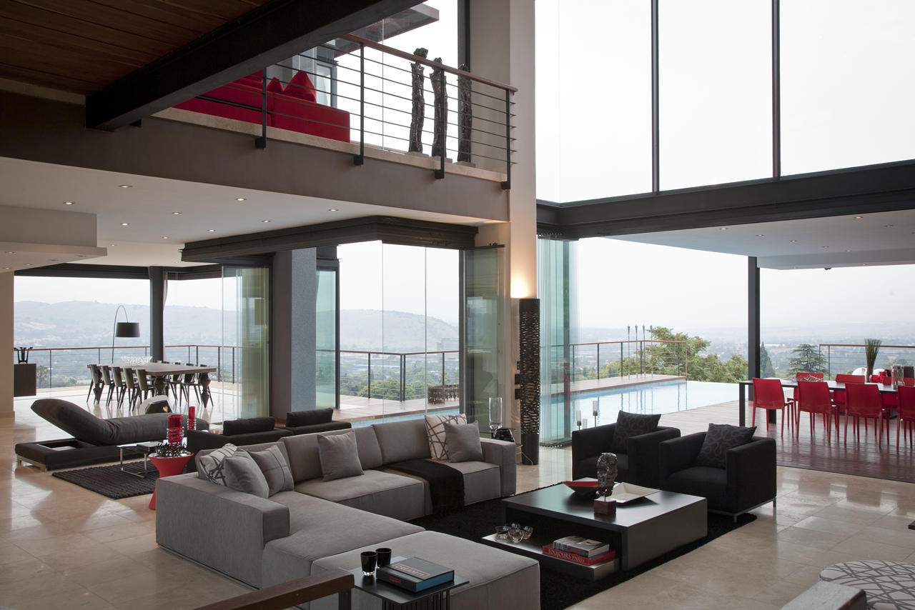 Contemporary Living Rooms: Modern Cabinet: Mansions: Dream Home Called Lam House By