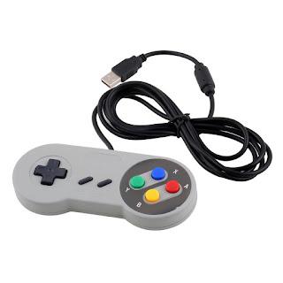 Super Nintendo Famicom SF SNES PC Controller Gamepad Joypad USB Windows Mac M2