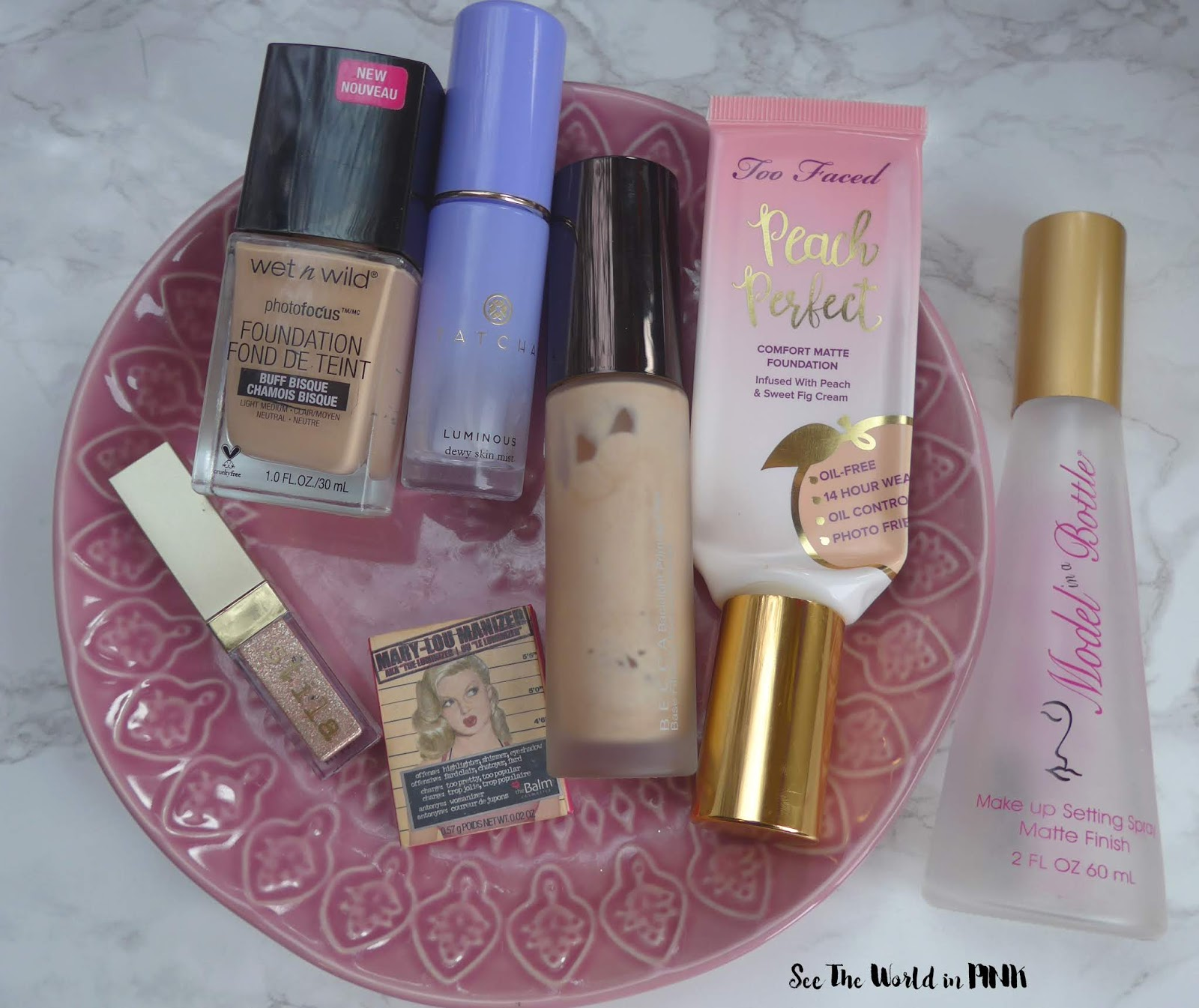 March 2019 - Monthly Empties & Month in Masks