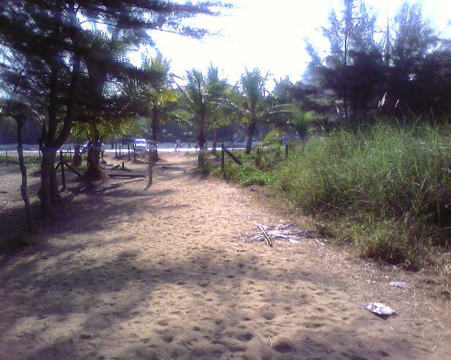 дорожка к морю от Мирамара