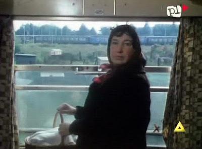baba w pociągu
