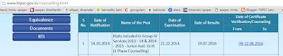 group 4 2014 second phase counselling result