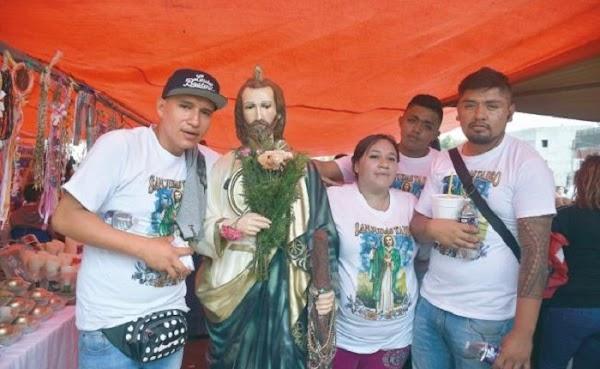 Juan dejó la drogadicción y los vicios gracias a San Judas, peregrinó para agradecer por los milagros