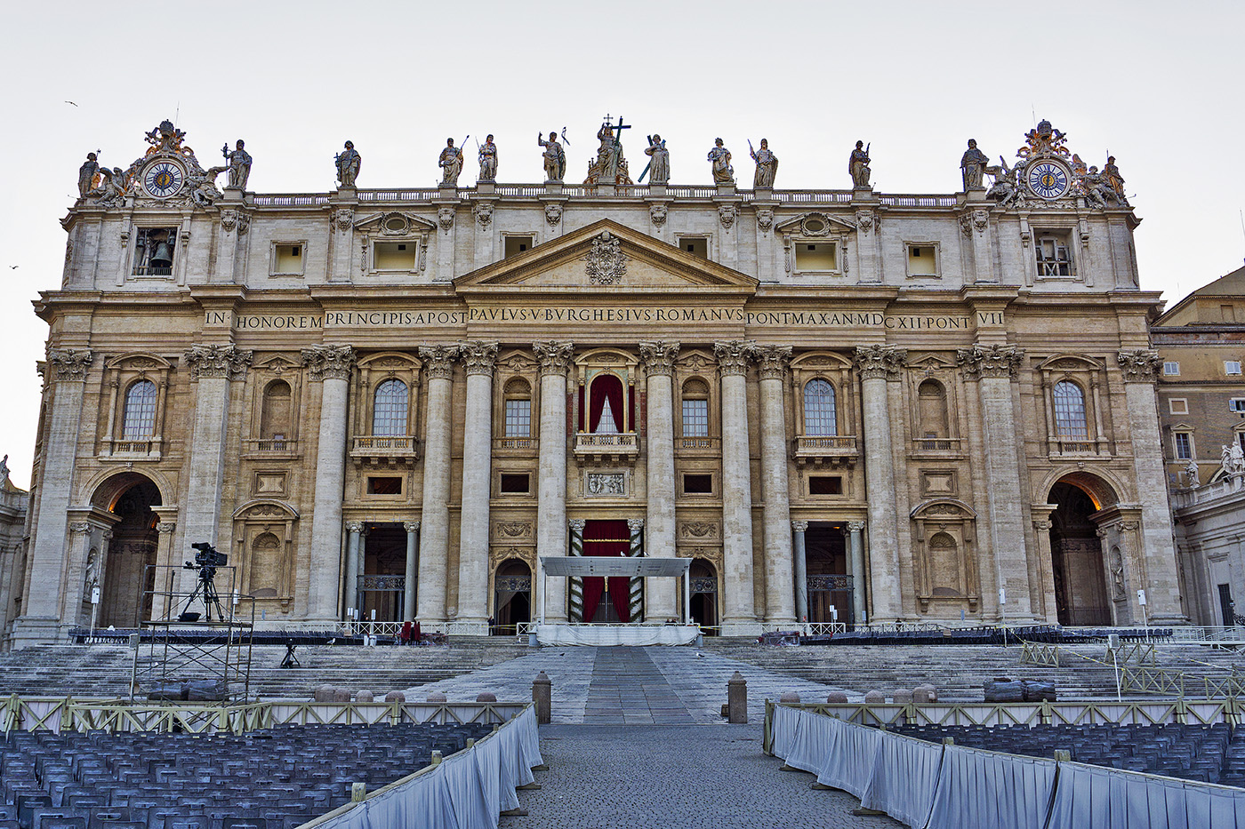 St. Peter's Basilica at The Vatican
