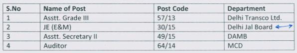 image : DSSSB Exam Schedule 24.09.2017 @ JobMatters