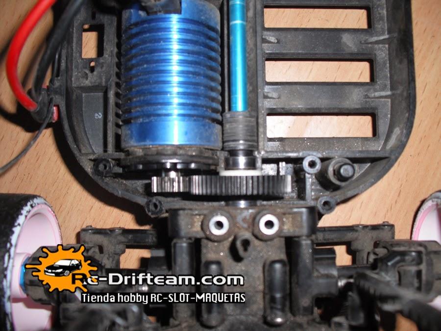 3 RACING TT01-28 Spur Gear 55//58//61 T pour TAMIYA TT01 Type TT-01 E Contrôle Radio Voiture