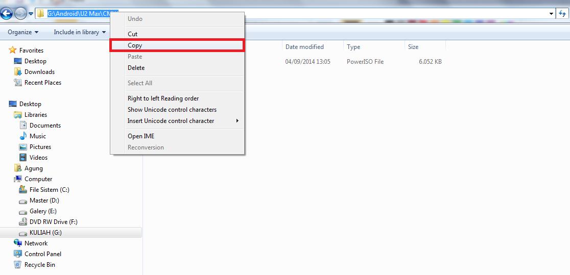 Cara ampuh sembunyikan folder rahasia dengan cmd