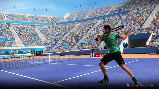Tennis World Tour v1.13 Gameplay Screenshot 3