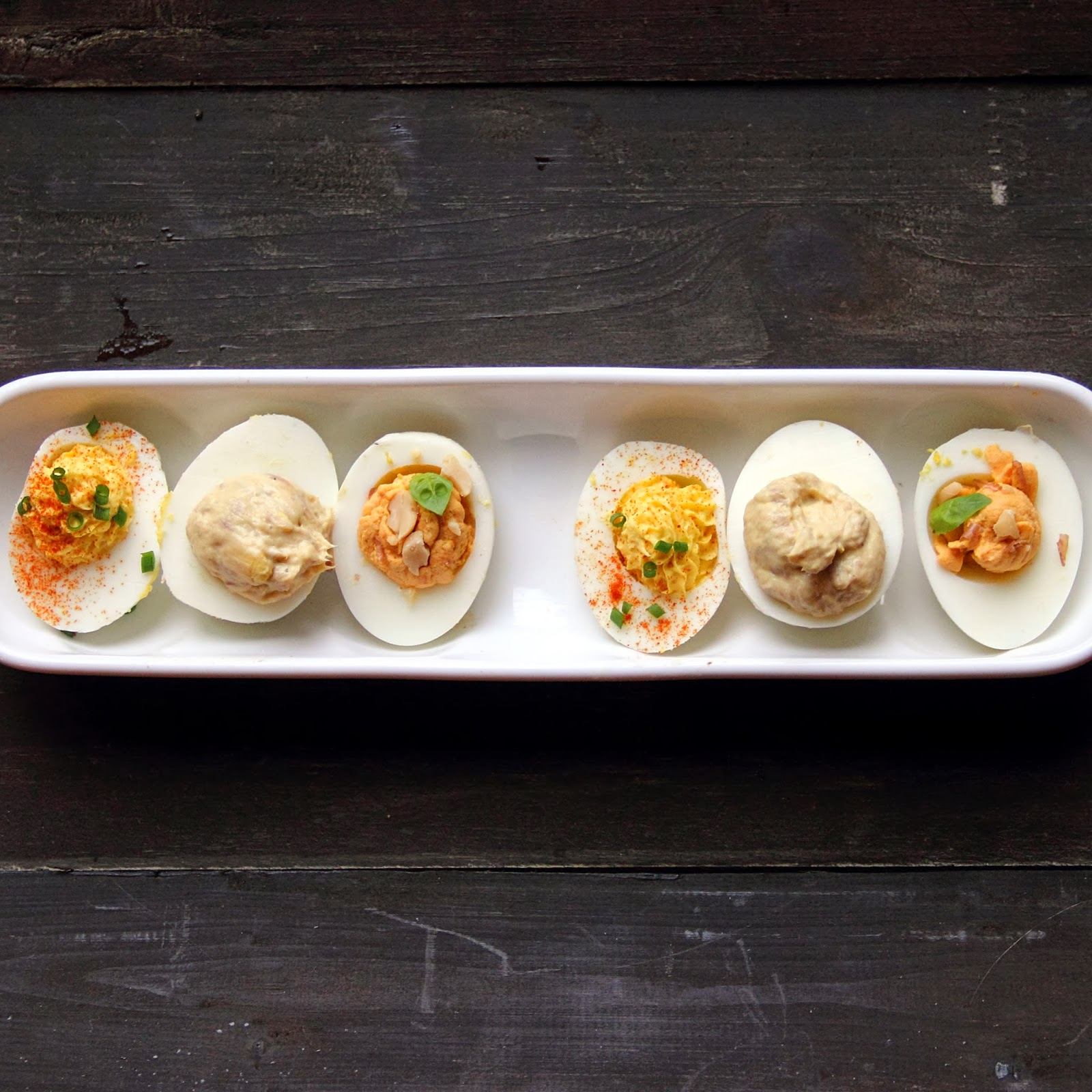 CookingWithGifs: Deviled Eggs Recipe Test