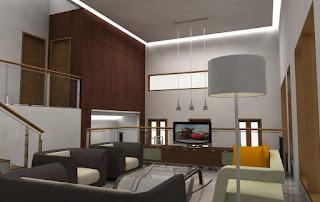 Gambar Desain Interior Rumah Modern 2