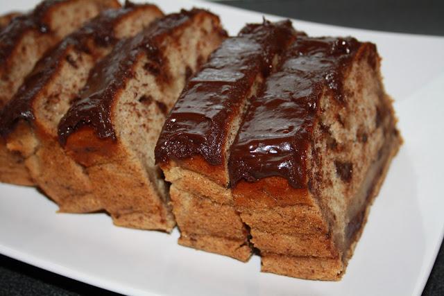 Banankake med sjokolade