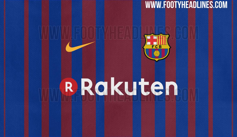 Atlanta United Fc Iphone Wallpaper Barcelona 17 18 Kit Design Leaked Footy Headlines
