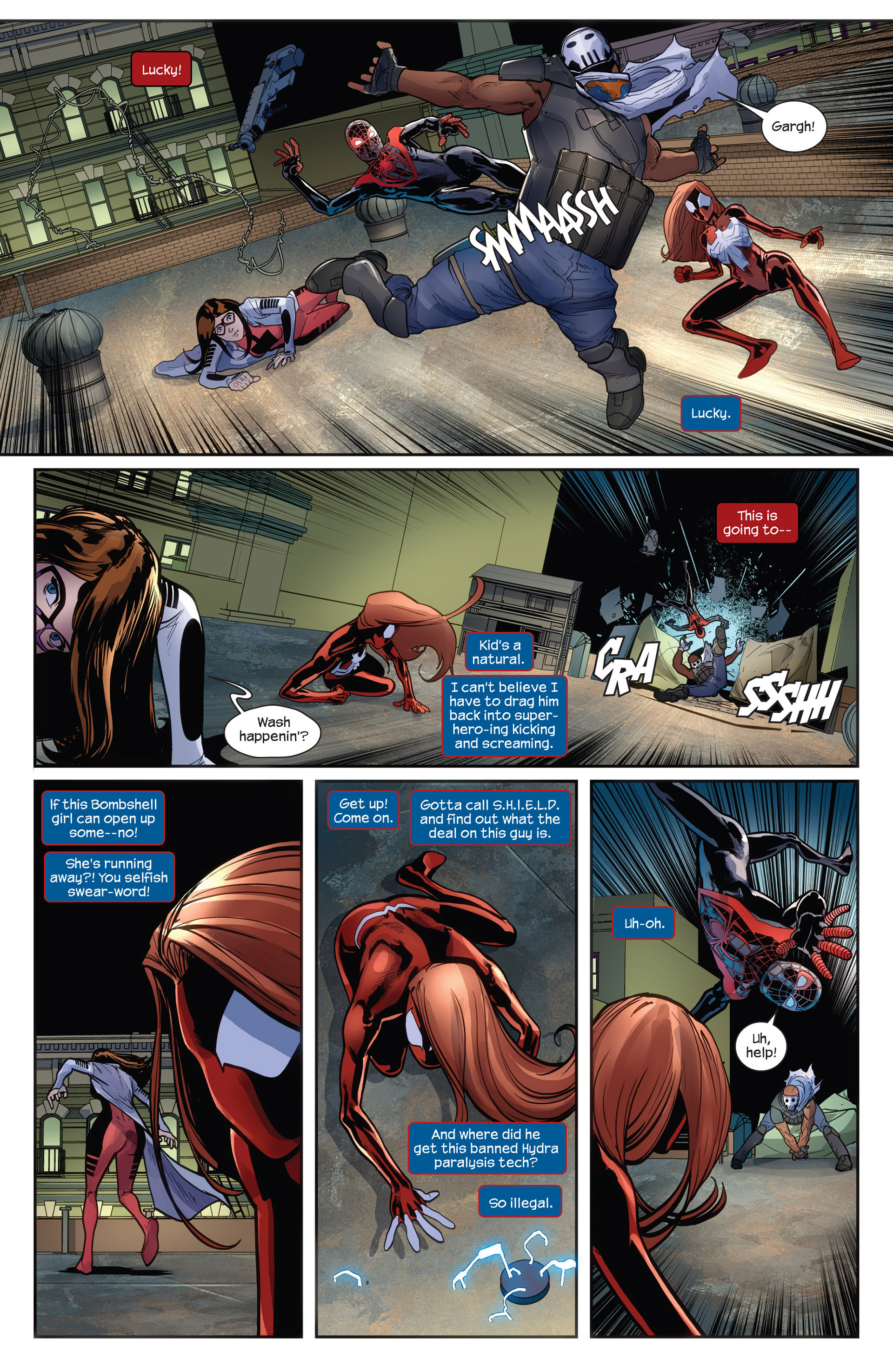 Read online Ultimate Comics Spider-Man (2011) comic -  Issue #27 - 7