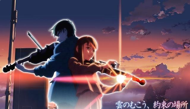 The Place Promised in Our Early Days - Top Anime Romance Sad Ending List