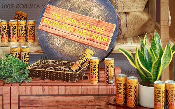 Georgia Coffee Max 100% nguồn cà phê Việt Nam