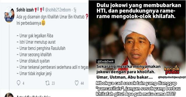 Prbedaan Jokowi dan Umar bin Khattab