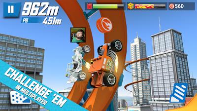 Tampilan Game Hot Wheels Race Off