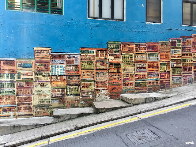 Graham Street art, Hong Kong