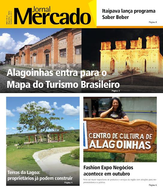 Confira os destaques da edição de setembro do Jornal Mercado
