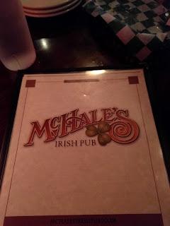 McHale's menu