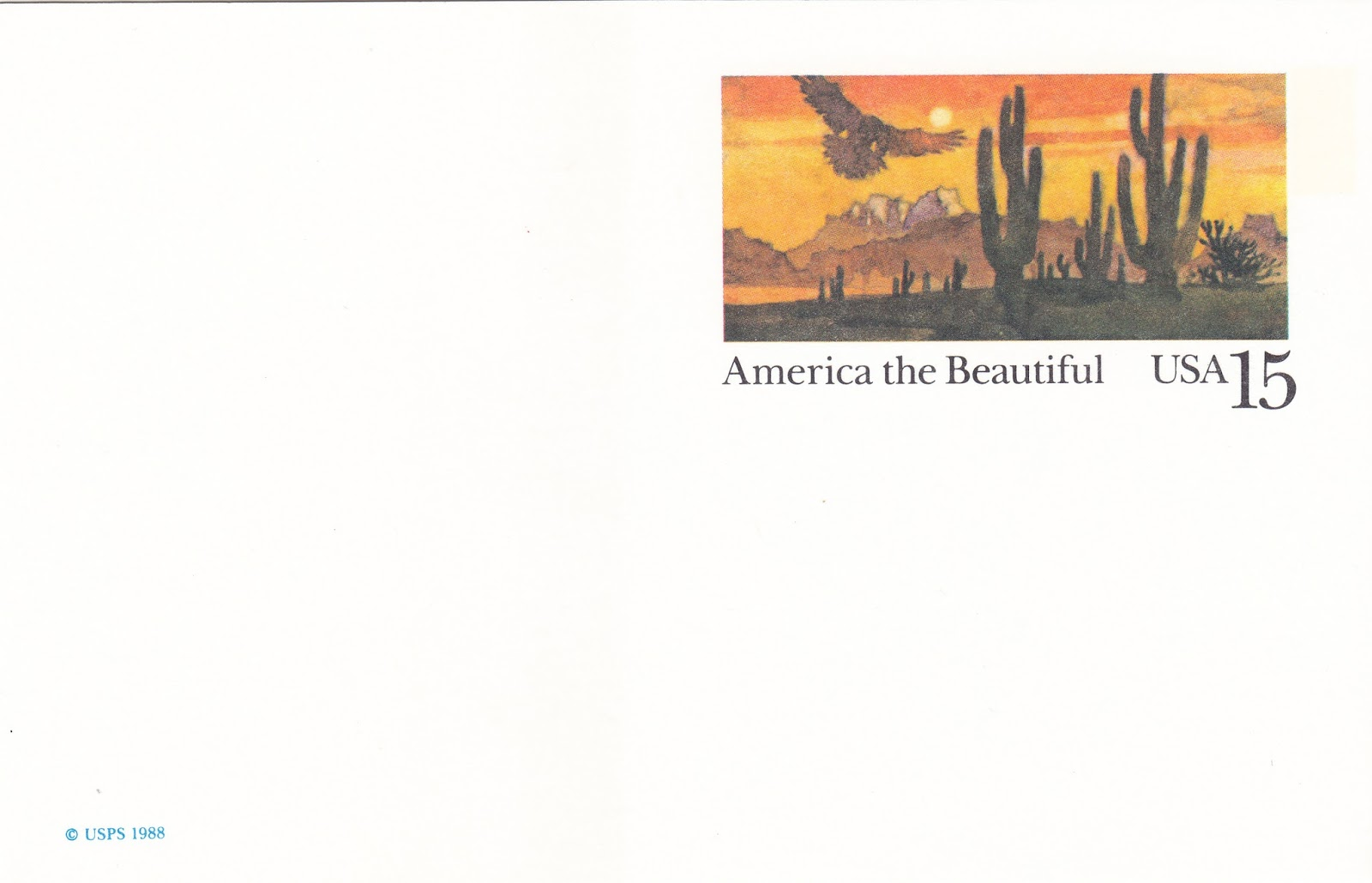 One Postcard A Day America The Beautiful Sonora Desert