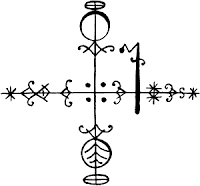Dance spirit, Danse, Kadans : Vèvè Legba, guardian of the crossroads | gardien de la croisée des chemins | gadyen kwase chemen