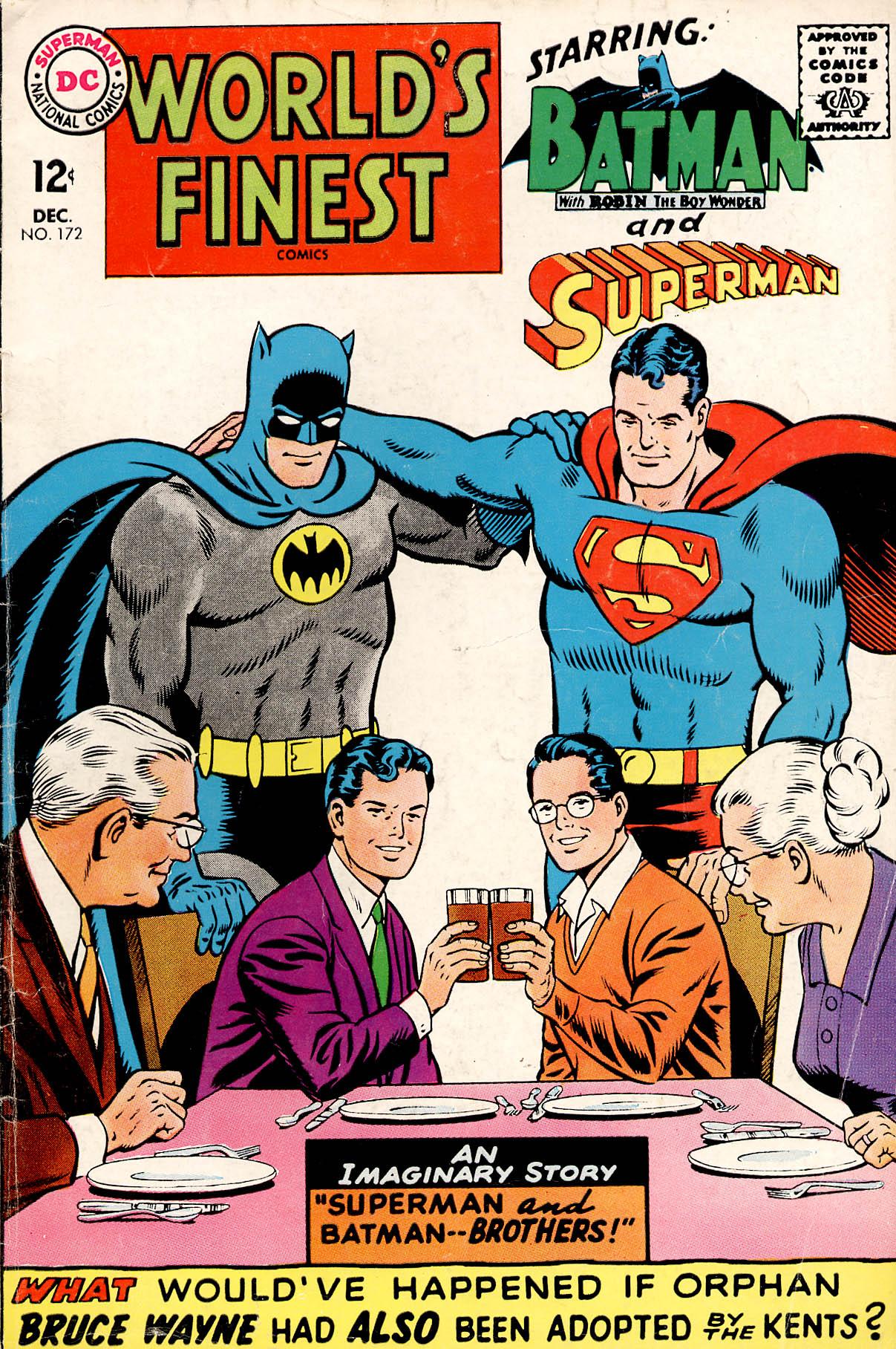 Read online World's Finest Comics comic -  Issue #172 - 1