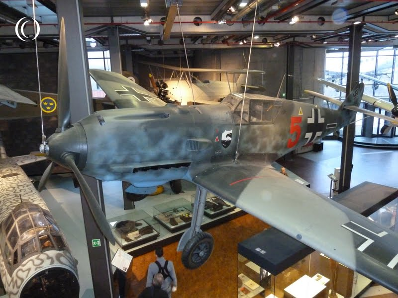 Messerschmitt Bf 109 E 3 displayed at the Deutsches Technikmuseum Berlin
