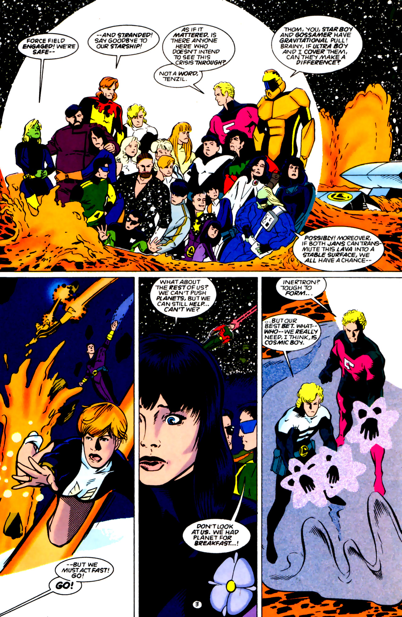 Legion of Super-Heroes (1989) 61 Page 3