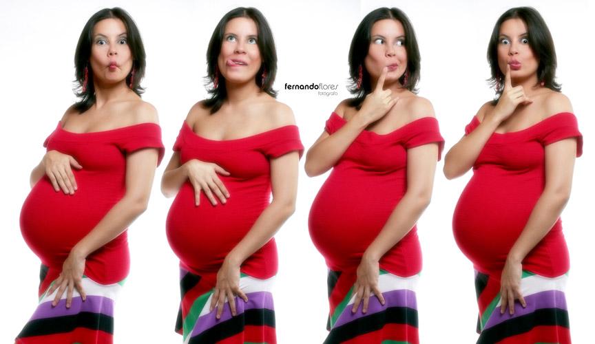 maquillaje para modelos embarazadas para un photoshoot