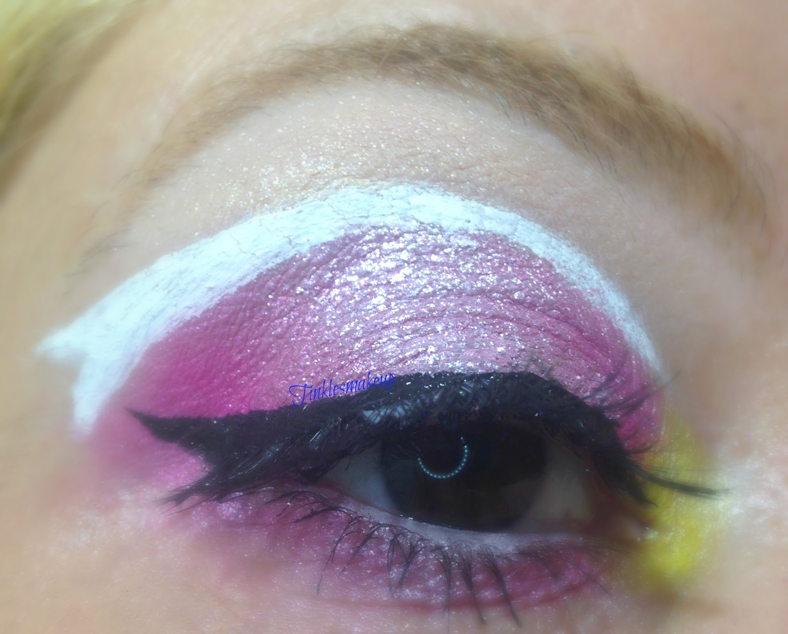 tinklesmakeup eye makeup look disney princess aurora