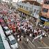 Grande público participa da Romaria Penitencial de Frei Bruno em Joaçaba