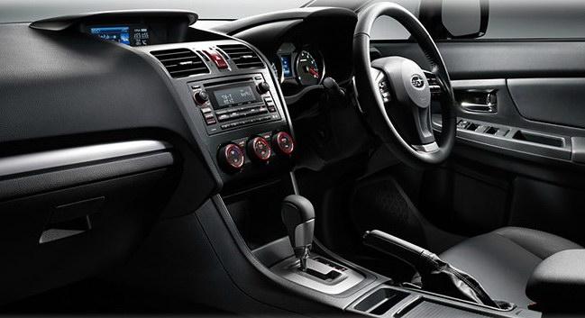 Interior Mobil Subaru Impreza