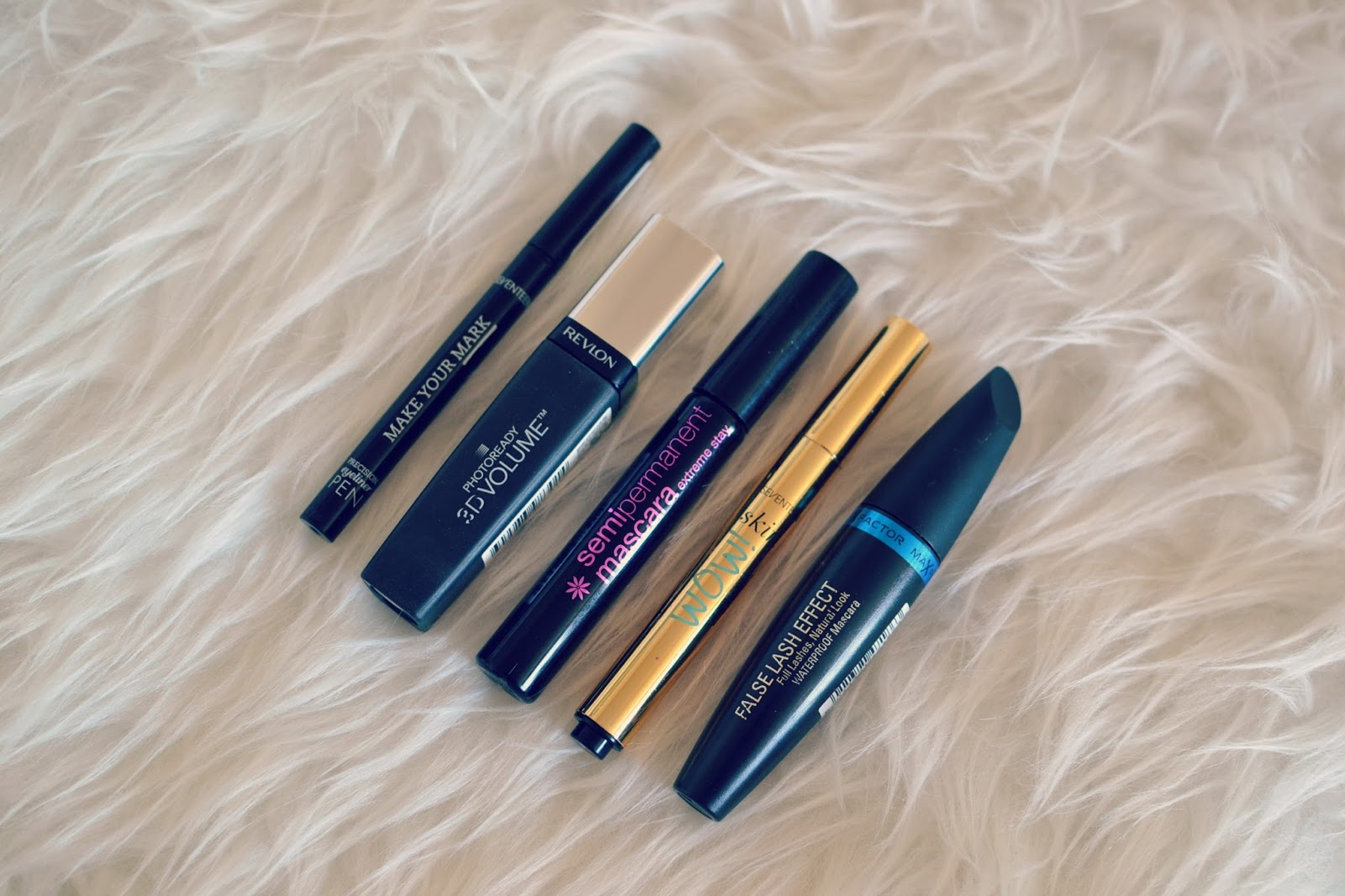 makeup empties products ive used up