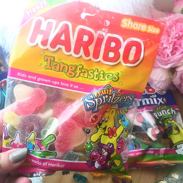 Haribo Fruit Spritzers Tangfastics