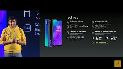 Realme 3 Phone Price