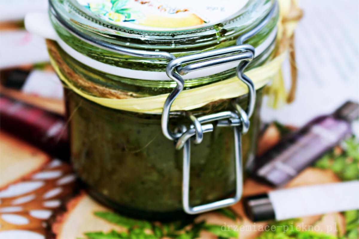 Peeling cukrowy orzeźwiający melon z zieloną herbatą - Natural Secrets