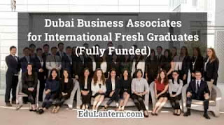 Dubai Business Associates for International Fresh Graduates (Fully Funded)