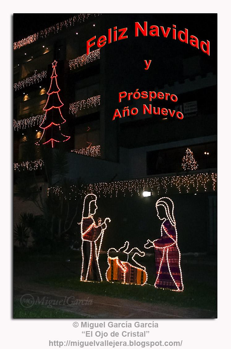 La Navidad en las calles de Lima (Perú)