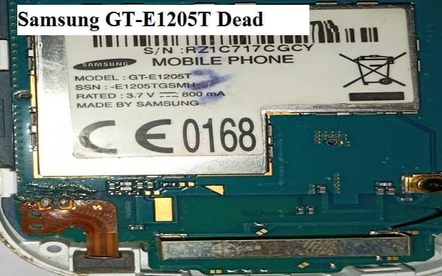 samsung e1205t flash file