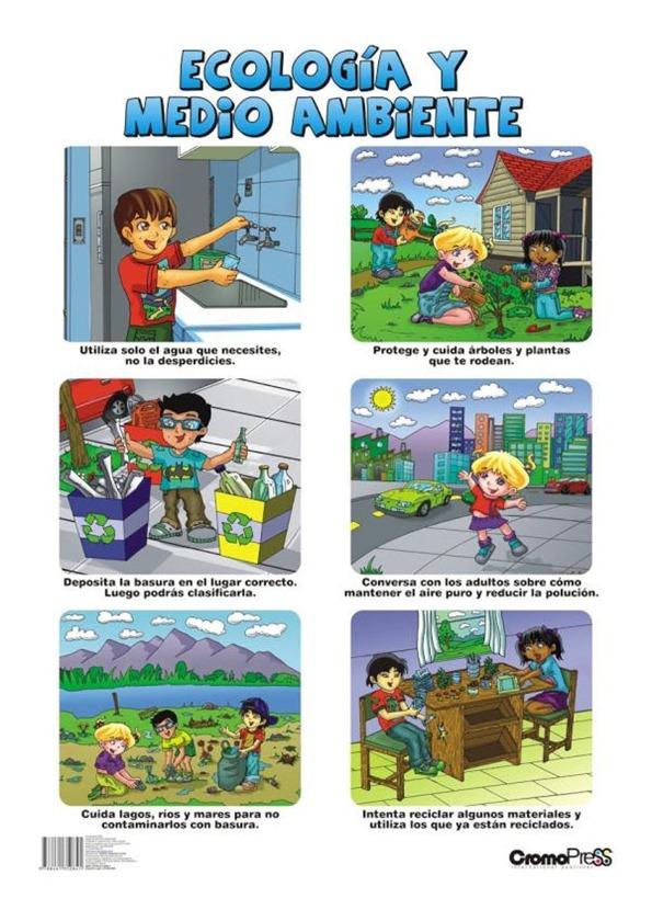 consejos cuidar el medio ambiente niños