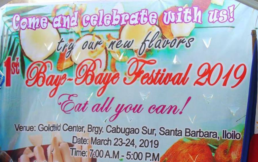 Baye-Baye Festival in Cabugao Sur, Sta. Barbara, Iloilo